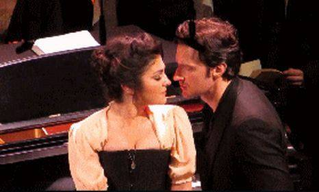 Lara Hillier as Odette with RA as Swann. Image by Fernanda Matias. Source: Chrissy Lampard Video.