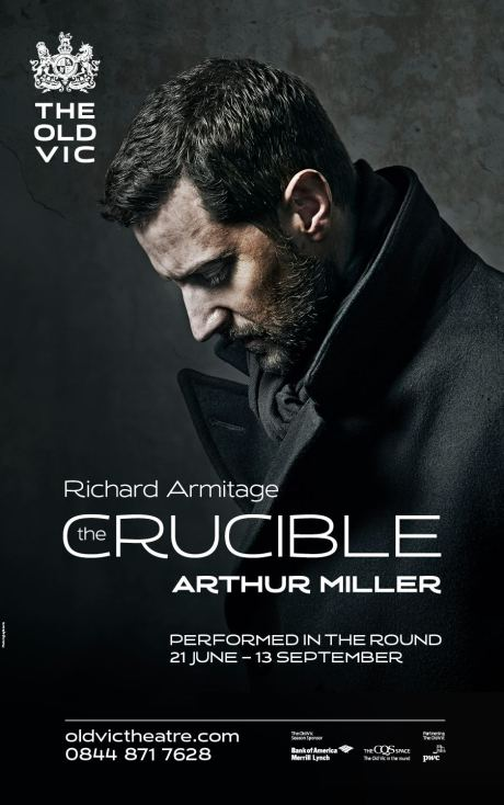 Richard Armitage in The Crucible. Photo by Jay Brooks.