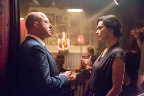 Heino Ferch as Joseph Emmerich. with S1's divine Michelle Forbes as Valerie Edwards.